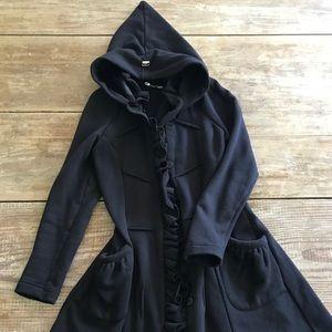 Miss Grant Black Coat